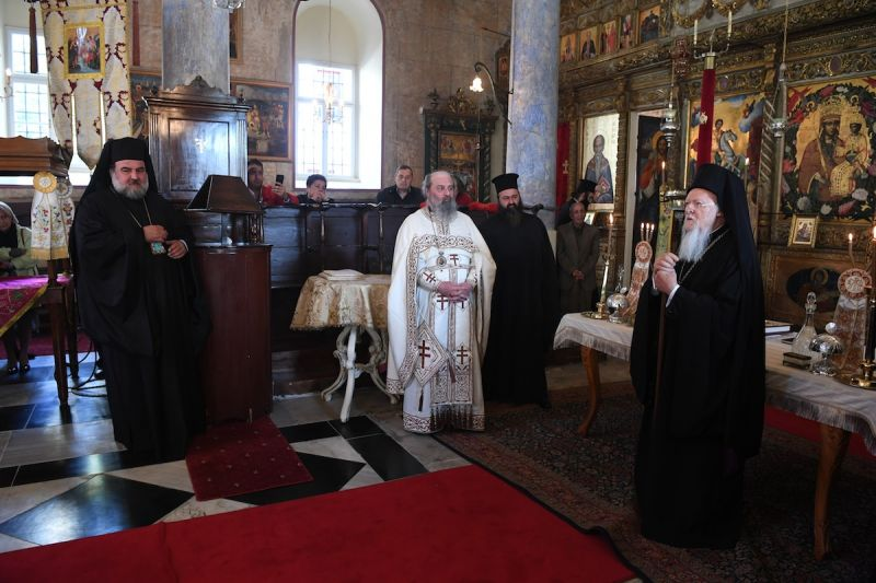 Ο Οικουμενικός Πατριάρχης στο Μετόχι του Παναγίου Τάφου στο Νιχώρι του Βοσπόρου