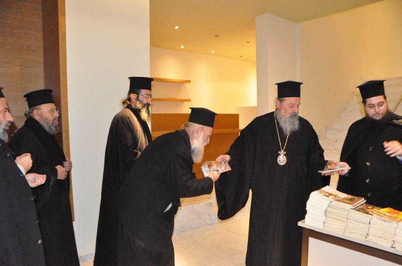 Συνάντηση τοῦ Ἐπισκόπου μας μέ τά νέα μέλη τῶν Ἐκκλησιαστικῶν Συμβουλίων