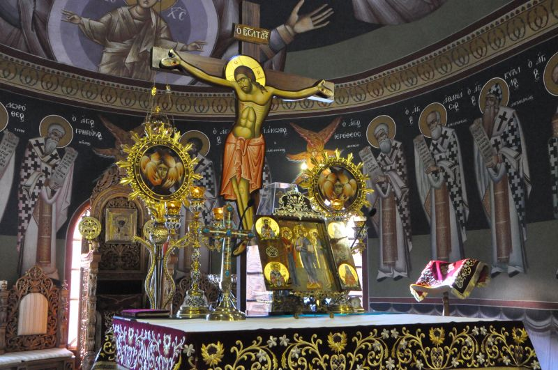 Ἡ ἀρχαιοπρεπής Θεία Λειτουργία τοῦ Ἁγίου ἐνδόξου Ἀποστόλου Ἰακώβου τοῦ Ἀδελφοθέου 2019
