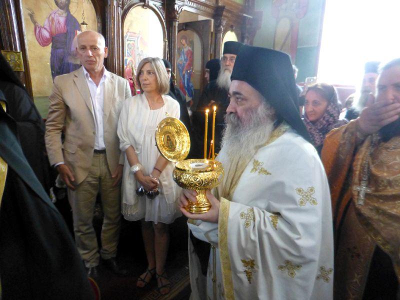 Ο Όσιος Γεώργιος Καρσλίδης στην Γεωργία.