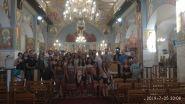Το τμήμα Ελληνικής γλώσσας και Πολιτισμού του Κέντρου Βυζαντινών, Κυπριακών και Ελληνικών σπουδών του Πανεπιστημίου της Γρανάδας στον Ι.Ν. Αγ. Αναργύρων Δράμας.