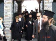 Δευτέρα της Διακαινησίμου στη Μονή Αναλήψεως (09/04/07)